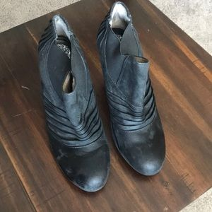 Vince Camino Black Ankle Boots